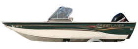 1800 Mirage Outboard Crestliner Bimini Tops | Custom Sunbrella® Crestliner Covers | Cover World