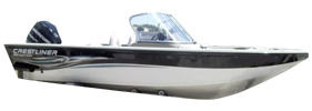 1800 Super Hawk Outboard Crestliner Bimini Tops | Custom Sunbrella® Crestliner Covers | Cover World