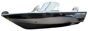 1800 Super Hawk Sterndrive Crestliner Bimini Tops | Custom Sunbrella® Crestliner Covers | Cover World