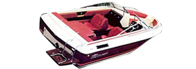 1845 Crusader Sterndrive Crestliner Boat Covers | Custom Sunbrella® Crestliner Covers | Cover World