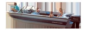 185 Crusader Sterndrive Crestliner Boat Covers | Custom Sunbrella® Crestliner Covers | Cover World