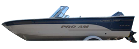1850 Pro AM SC Outboard Crestliner Boat Covers
