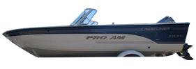 1850 Pro AM Tiller Outboard Crestliner Boat Covers | Custom Sunbrella® Crestliner Covers | Cover World