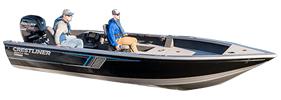 1850 Pro Tiller Outboard Crestliner Boat Covers | Custom Sunbrella® Crestliner Covers | Cover World