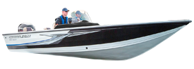 1850 Raptor SC Outboard Crestliner Bimini Tops | Custom Sunbrella® Crestliner Covers | Cover World