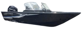 1850 Raptor WT Outboard Crestliner Bimini Tops | Custom Sunbrella® Crestliner Covers | Cover World