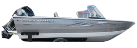 1850 Super Hawk Outboard Crestliner Bimini Tops | Custom Sunbrella® Crestliner Covers | Cover World