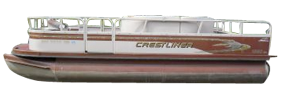 1880 Sport Pontoon Crestliner Bimini Tops | Custom Sunbrella® Crestliner Covers | Cover World