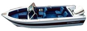 19 Nordic Sportfish Outboard Crestliner Boat Covers | Custom Sunbrella® Crestliner Covers | Cover World