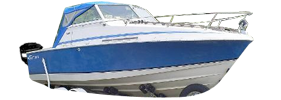 190 Crusader Outboard (All Years) Crestliner Boat Covers