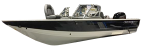 1950 Fish Hawk WT Outboard Crestliner Bimini Tops | Custom Sunbrella® Crestliner Covers | Cover World