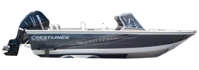 1950 Super Hawk Outboard Crestliner Bimini Tops | Custom Sunbrella® Crestliner Covers | Cover World