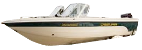 1960 Phantom Sst Outboard Crestliner Bimini Tops | Custom Sunbrella® Crestliner Covers | Cover World