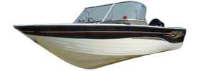 2000 Mirage Outboard Crestliner Bimini Tops | Custom Sunbrella® Crestliner Covers | Cover World