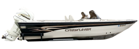 202 Tournament DC Outboard Crestliner Bimini Tops | Custom Sunbrella® Crestliner Covers | Cover World