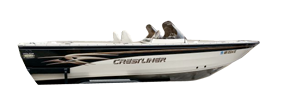 202 Tournament DC Crestliner Boat Covers
