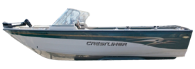 2050 Sportfish Sterndrive Crestliner Boat Covers | Custom Sunbrella® Crestliner Covers | Cover World