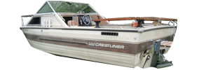 2056 Nordic Sterndrive (All Years) Crestliner Boat Covers