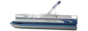 2080 Sport Pontoon Crestliner Boat Covers | Custom Sunbrella® Crestliner Covers | Cover World