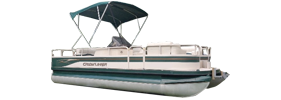 2082 Sport LX Fishing Crestliner Bimini Tops | Custom Sunbrella® Crestliner Covers | Cover World