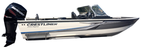 2100 Raptor Outboard Crestliner Bimini Tops | Custom Sunbrella® Crestliner Covers | Cover World