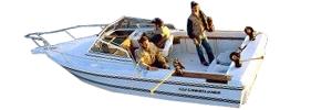 2105 Crusader WAC Sterndrive Crestliner Boat Covers | Custom Sunbrella® Crestliner Covers | Cover World