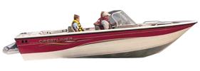2150 Sportfish Sterndrive Crestliner Boat Covers | Custom Sunbrella® Crestliner Covers | Cover World