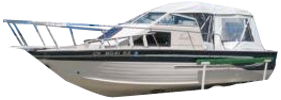 2160 Eagle Sst Outboard Crestliner Bimini Tops | Custom Sunbrella® Crestliner Covers | Cover World