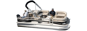 2185 Grand Cayman Angler 4-Point Crestliner Bimini Tops | Custom Sunbrella® Crestliner Covers | Cover World