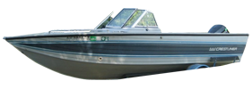 22 Nordic Sportfish Outboard Crestliner Boat Covers | Custom Sunbrella® Crestliner Covers | Cover World