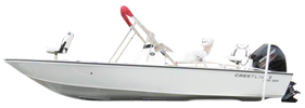 2200 Bay Outboard Crestliner Bimini Tops | Custom Sunbrella® Crestliner Covers | Cover World