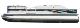 2285 LSI Angler Crestliner Boat Covers | Custom Sunbrella® Crestliner Covers | Cover World