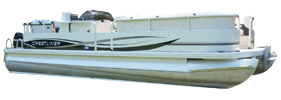 2385 Batata Bay Tri Crestliner Bimini Tops | Custom Sunbrella® Crestliner Covers | Cover World