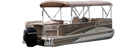 2385 Grand Cayman Cr2l Crestliner Bimini Tops | Custom Sunbrella® Crestliner Covers | Cover World