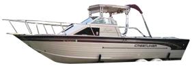 2450 Eagle Sterndrive Crestliner Boat Covers | Custom Sunbrella® Crestliner Covers | Cover World