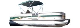 2485 LSI Angler Crestliner Boat Covers | Custom Sunbrella® Crestliner Covers | Cover World