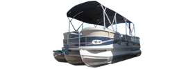 2585 Grand Cayman Angler Cr2l Crestliner Bimini Tops | Custom Sunbrella® Crestliner Covers | Cover World