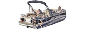 2685 Grand Cayman RFL Sterndrive Crestliner Boat Covers | Custom Sunbrella® Crestliner Covers | Cover World