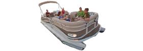 2785 Grand Cayman RFL CR2L Crestliner Boat Covers | Custom Sunbrella® Crestliner Covers | Cover World