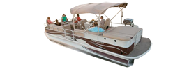 2885 Grand Cayman Sterndrive Crestliner Bimini Tops | Custom Sunbrella® Crestliner Covers | Cover World