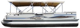 2885 LSI Sterndrive Crestliner Boat Covers | Custom Sunbrella® Crestliner Covers | Cover World