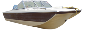 550 Muskie Outboard Crestliner Boat Covers
