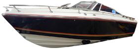 775 Crusader Sterndrive Crestliner Boat Covers | Custom Sunbrella® Crestliner Covers | Cover World