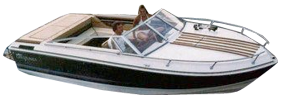 995 Crusader Rampage Sterndrive (All Years) Crestliner Boat Covers