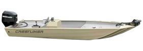 C 1655 V Outboard Crestliner Boat Covers | Custom Sunbrella® Crestliner Covers | Cover World