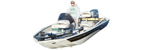 CX 1754 Bass Outboard Crestliner Bimini Tops | Custom Sunbrella® Crestliner Covers | Cover World