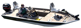 CX 1754 Crappie Outboard Crestliner Bimini Tops | Custom Sunbrella® Crestliner Covers | Cover World