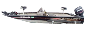 CX 178 Bass Outboard Crestliner Bimini Tops | Custom Sunbrella® Crestliner Covers | Cover World