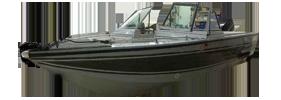 V160 Mirage Sportfish Outboard Crestliner Boat Covers | Custom Sunbrella® Crestliner Covers | Cover World