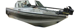 V160 Mirage Sterndrive Crestliner Boat Covers | Custom Sunbrella® Crestliner Covers | Cover World